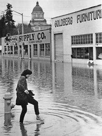 Olympia Supply flood