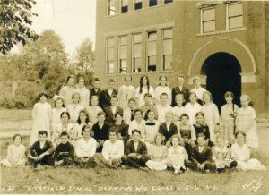 garfield school 1919