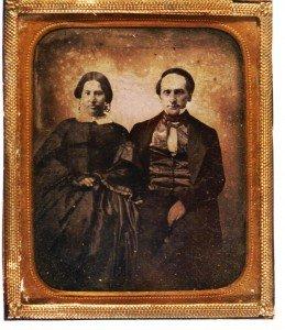 1854 Bigelow wedding portrait